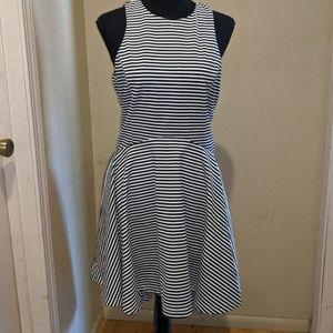 Lucy Paris Striped Skater Dress